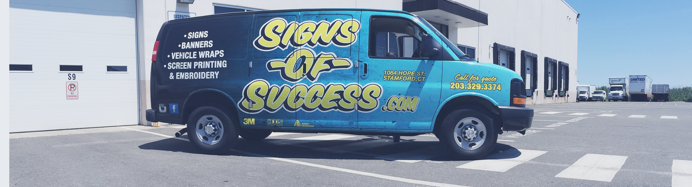 Signs of Success Van
